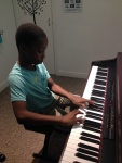 Timi performing one of his grade 2 exam pieces and it sounds pretty good!
