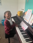 Lillee enjoying playing some of her fav songs..!