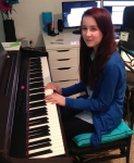 Abigail learning A river flows in you by Yiruma